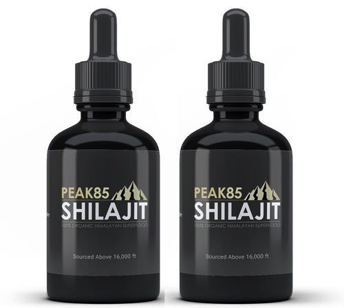 2 Month Supply - Peak85 SHILAJIT