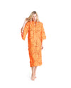 no. 395 orange 3d lace maxi caftan