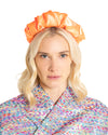 Orange Satin Headband