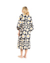 no. 575 black & yellow daisy maxi caftan