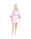 no. 413 Lilac feather Mini Kimono
