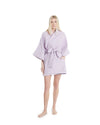 no. 547 purple metallic mini kimono