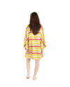 no. 715 rainbow stripe mini caftan