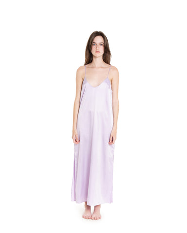 White Satin Slip