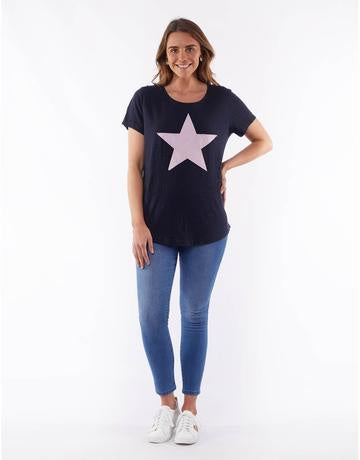 Starry Eyed Tee Navy
