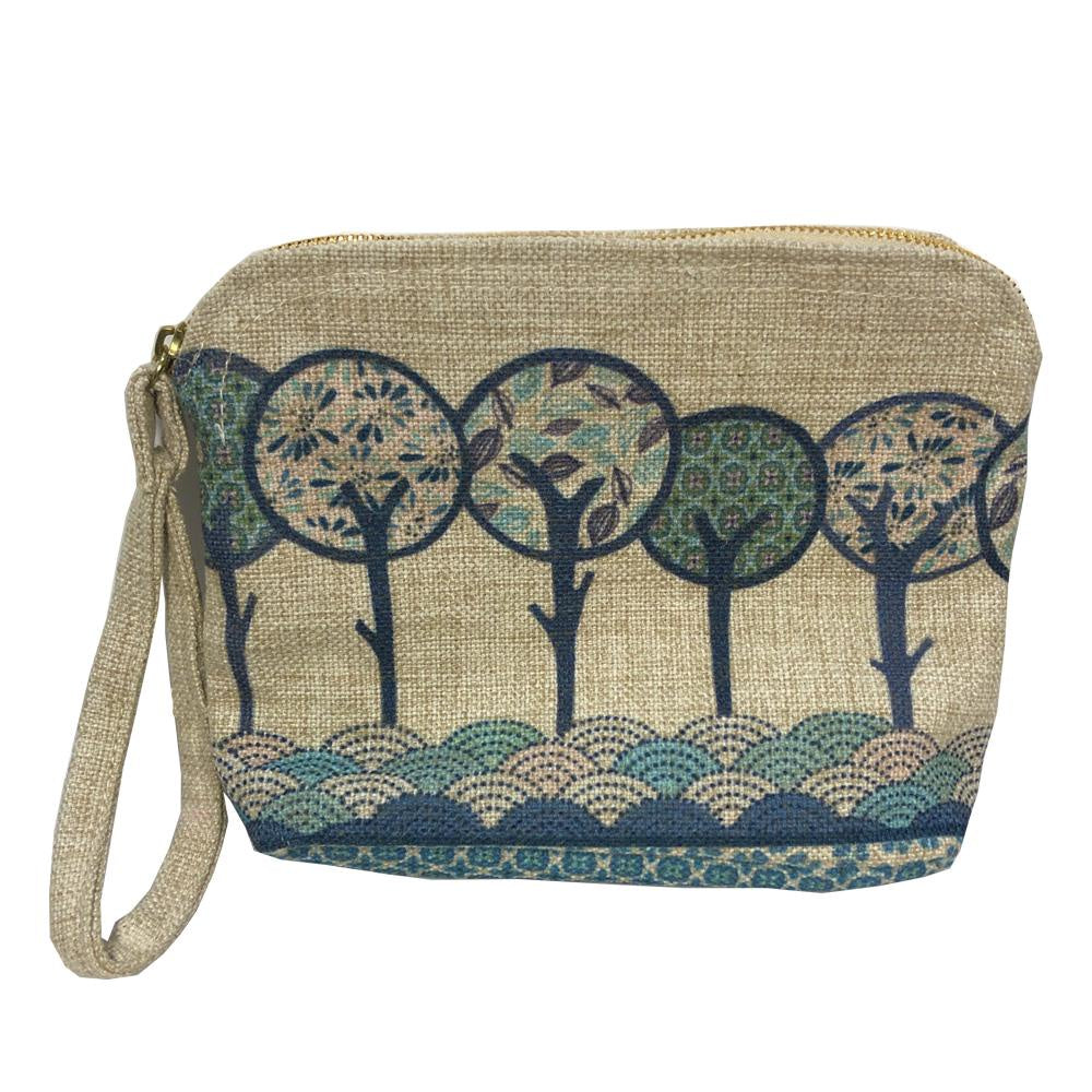 Rounded Zipper Tote - Hill Top Trees