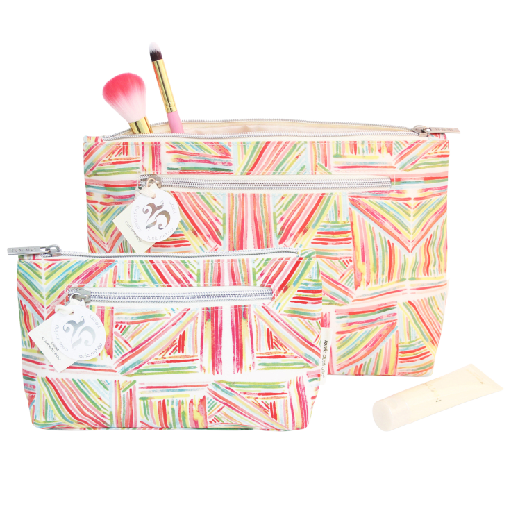 Lrg Cos Bag Pink Sticks