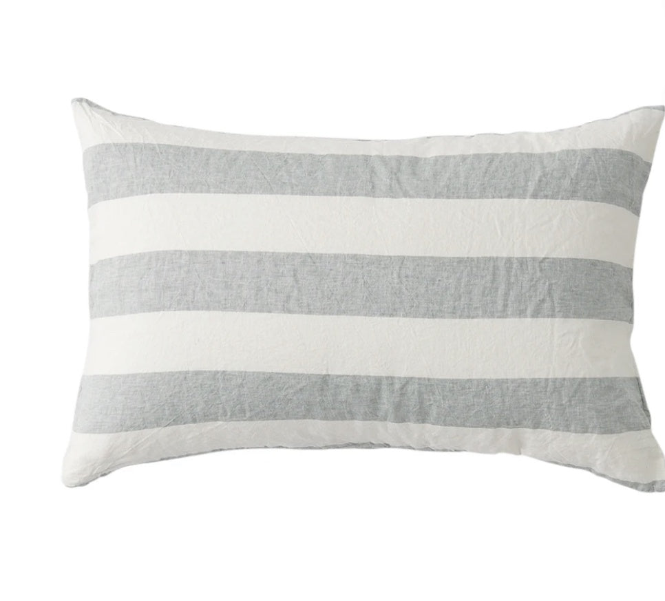 Fog Stripe Pillowcase Set