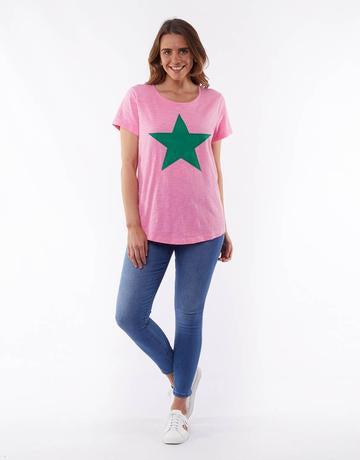 Starry Eyed Tee Pink