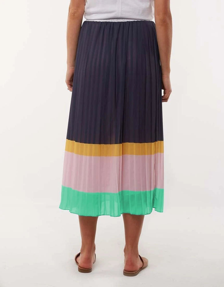 Nina Pleat Skirt