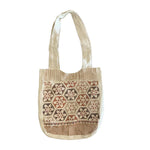 Linen Shoulder Bag -Pattern