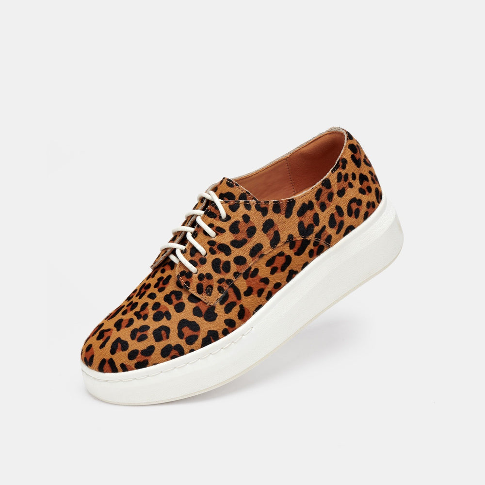 Derby   City Cognac Leopard