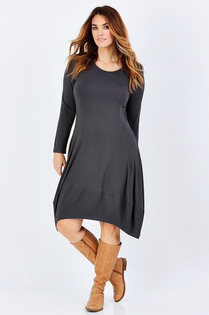 Swing Hem Dress