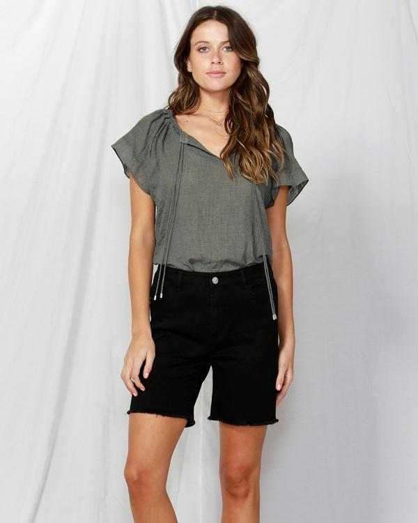 Sunday Drawstring Top