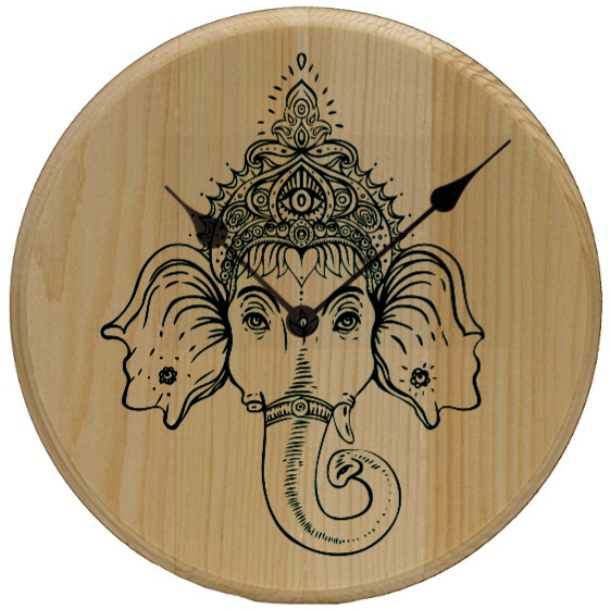 Ganesh Home Decor Wall Art Clock