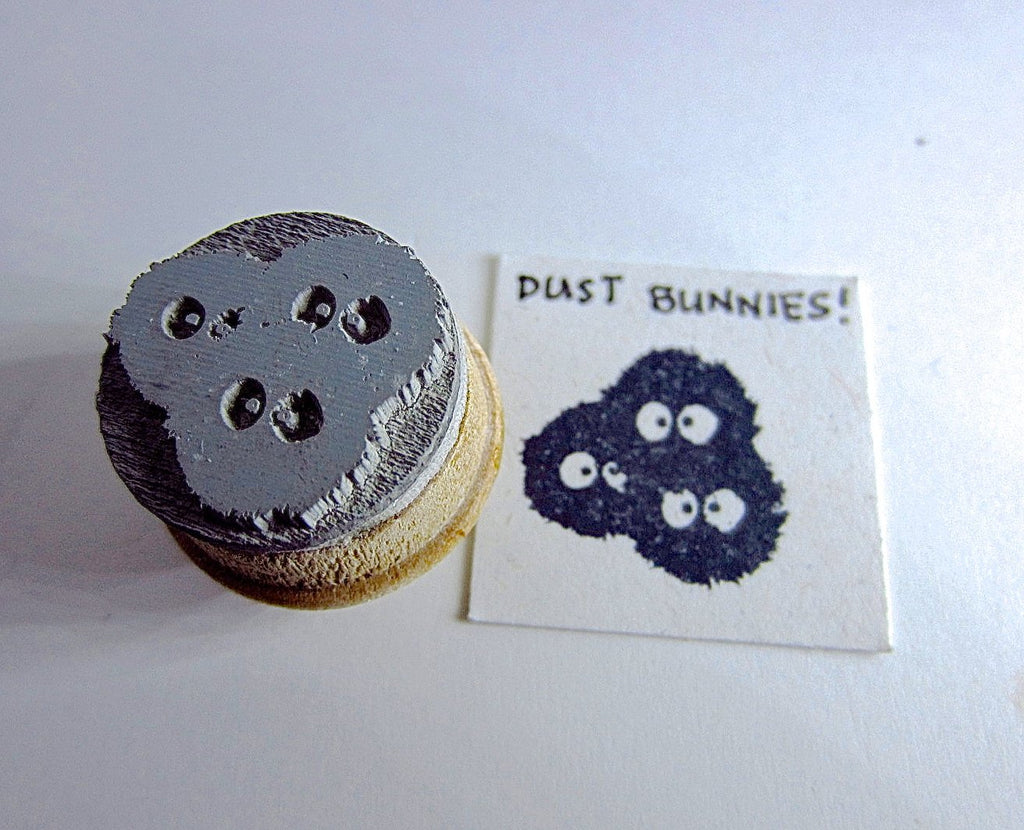 Soot Sprites Rubber Stamp Collection - My Neighbour Totoro - As seen in Shut Up and Take my Yen