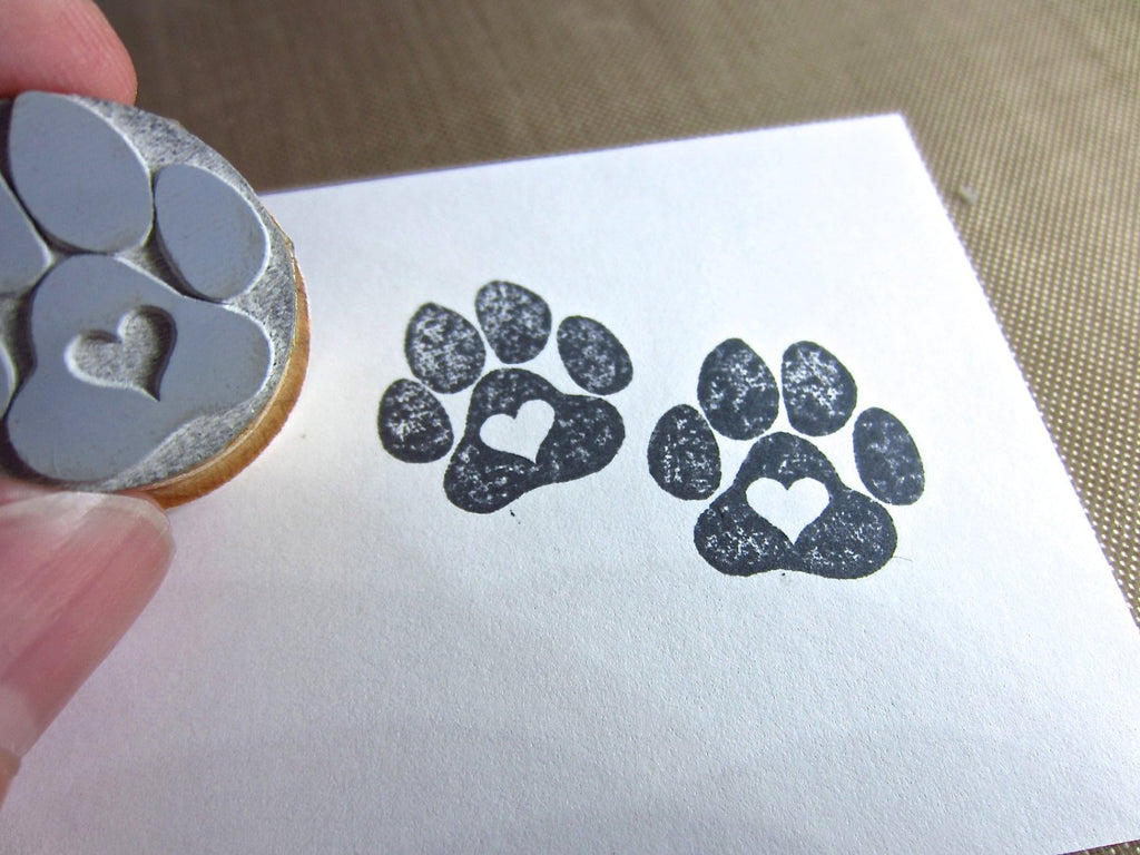 Love a Paw Rubber Stamp - New Packaging