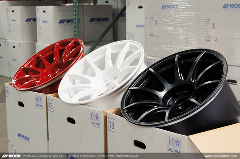 WORK M.C.O Racing Type CS 18x10.5 +20mm 5x114.3