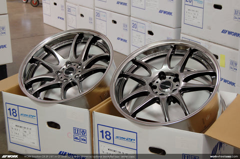 WORK Emotion CR2P 18x9.5 +38mm 5x114.3 (Silver)