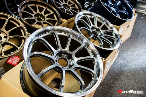 ADVAN Racing RS-DF Progressive 19x9.5 +35mm 5x120 Civic Type R Spec