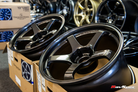 ADVAN Racing GT Premium 18x10 +35 / 18x12 +27 5x114.3 Dark Bronze Metallic