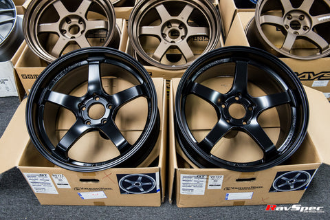 ADVAN Racing GT Forged 19x9.5 +35mm 5x120 Semi Gloss Black Color
