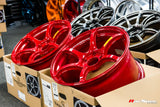 ADVAN Racing RGIII 18x9.5 +45mm 5x114.3 Racing Red