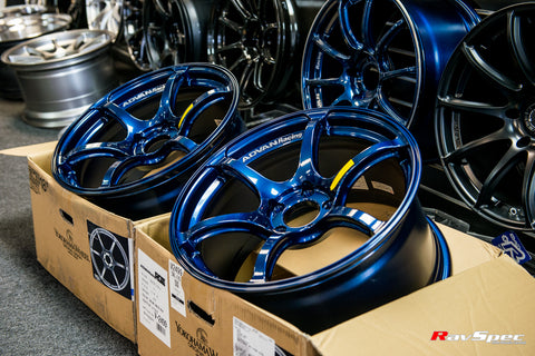 ADVAN Racing RGIII 18x9.5 +45mm 5x114.3 Racing Indigo Blue