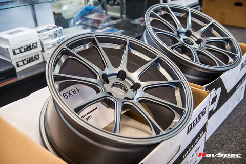 Titan 7 T-R10 Forged 18x9.0 +38mm 5x108 Ford Focus RS / ST