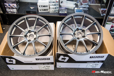 Titan 7 T-R10 18x9.5 +40mm 5x114.3 For Subaru STI and WRX Fitments