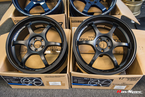 ADVAN Racing RG-D 17x8.5 / 17x9.5 5x114.3 Matte Black