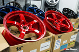 RAYS Gram Lights 57CR 18x9.5 +38mm 5x114.3 Burning Red