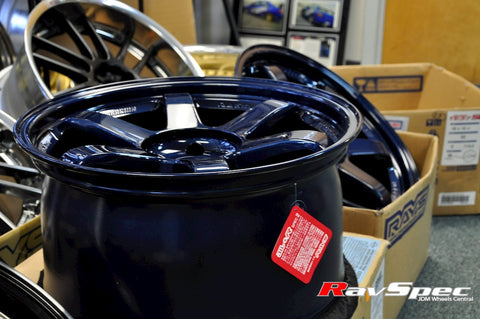 RAYS VOLK Racing TE37SL - 18x10.0 +40mm 5x114.3 Mag Blue