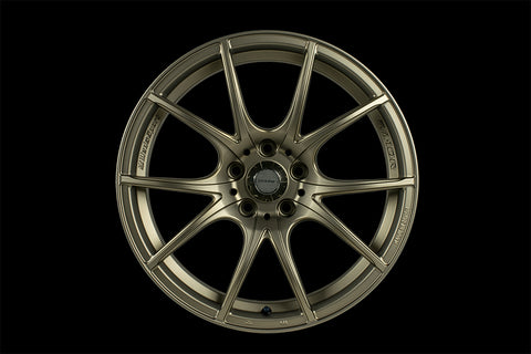 WEDSSPORT SA10R 18x8.5 +45mm 5x112 (VW/AUDI) Fitments - Bronze
