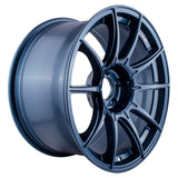 SSR GTX01 18x9.5 +22mm 5x114.3 Blue Gun Metal