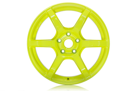 RAYS Grams Light 57C6 Luminous Yellow 18x9.5 +12mm 5x114
