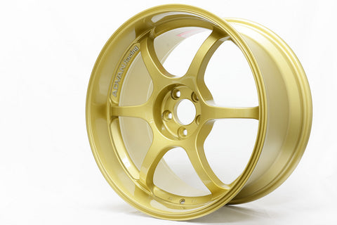 ADVAN Racing RG-D 17x7.5 +48mm / 18x9.0 +45mm 5x114.3 Gold Metallic
