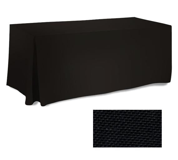 2 Black Fitted Tablecloth