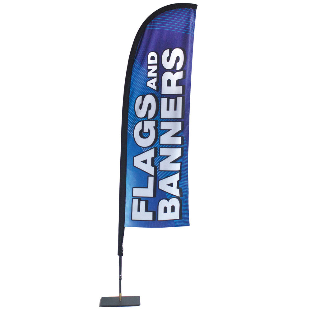 Store Front Flag - Single-Sided Graphics (Stand & Graphic)