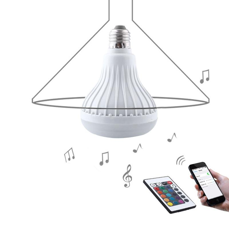 WIRELESS BLUETOOTH SPEAKER MULTICOLOR BULB
