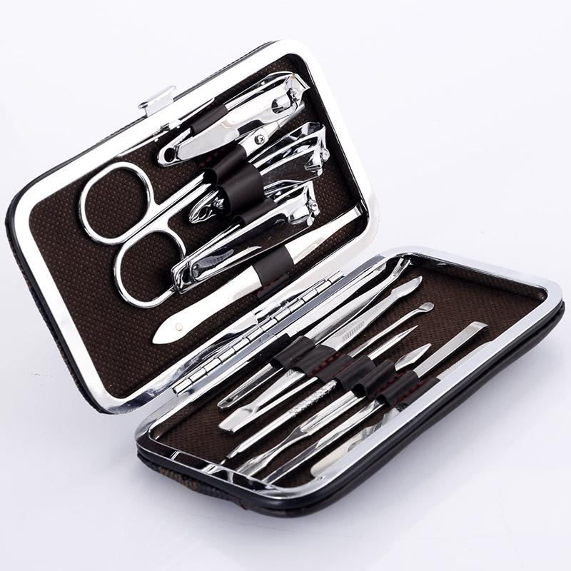 12 Piece Nail Clipper Kit (Large And Small)