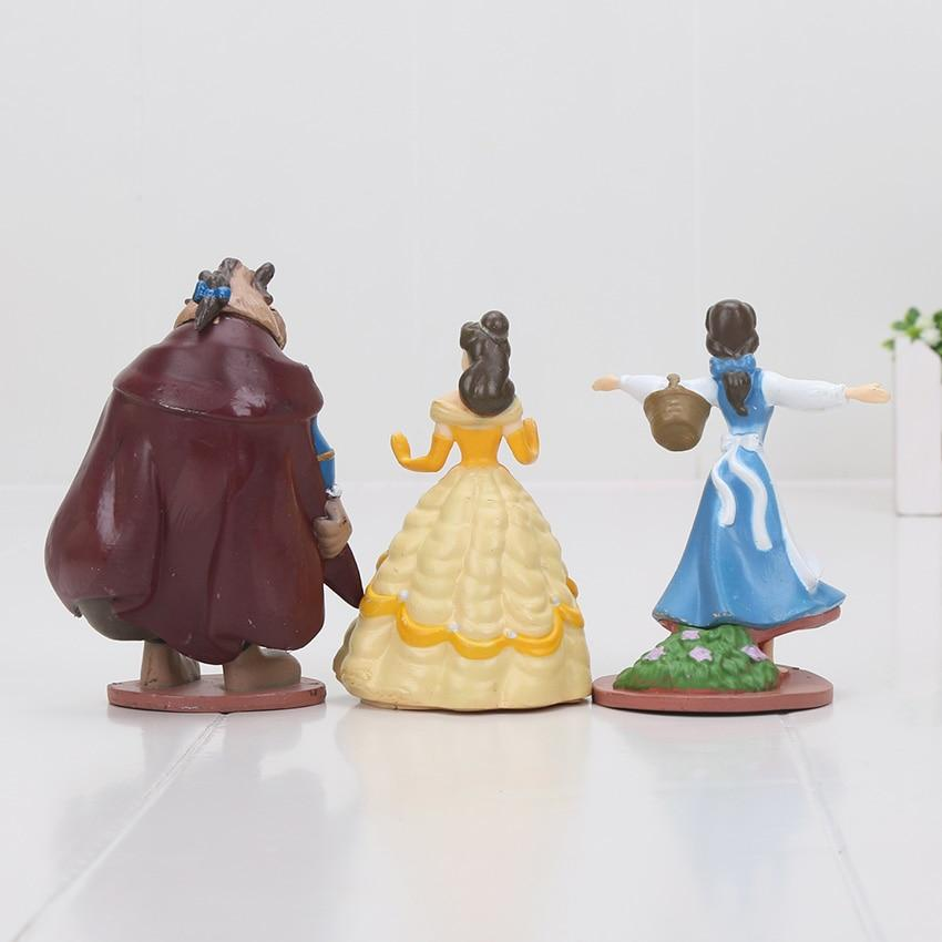 Beauty & The Beast Live Action Figure Set