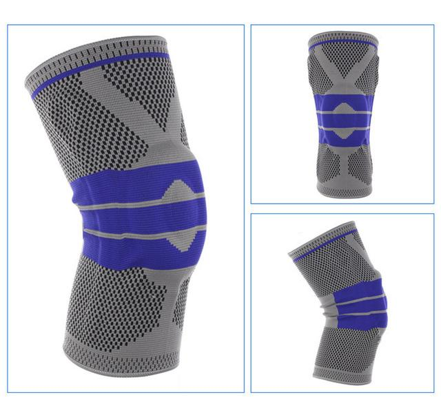 Nylon silicon knee sleeve