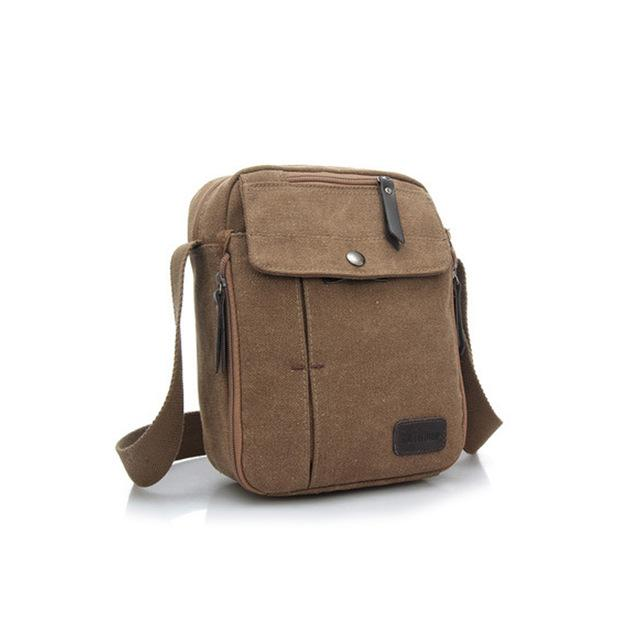 Stylish Men's Canvas Messenger Bag
