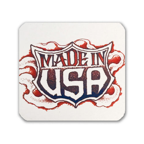 Square Coaster: Made In USA