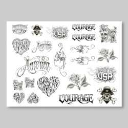 Sticker Sheet: Jack Rudy Art