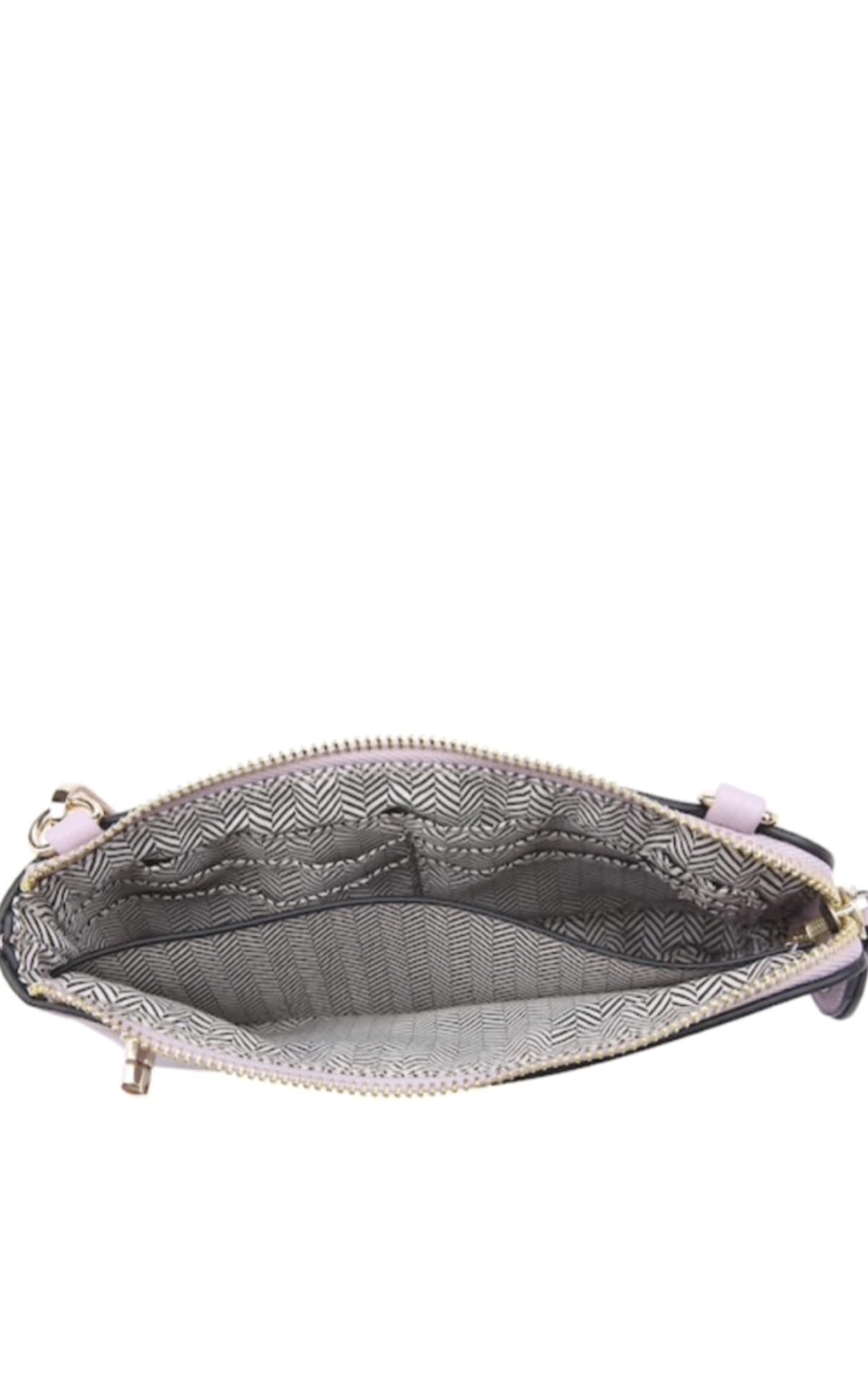 Twist Lock Wristlet/Crossbody Bag