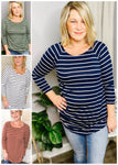 Striped Tees