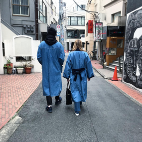 Denim Kimonos in Japan