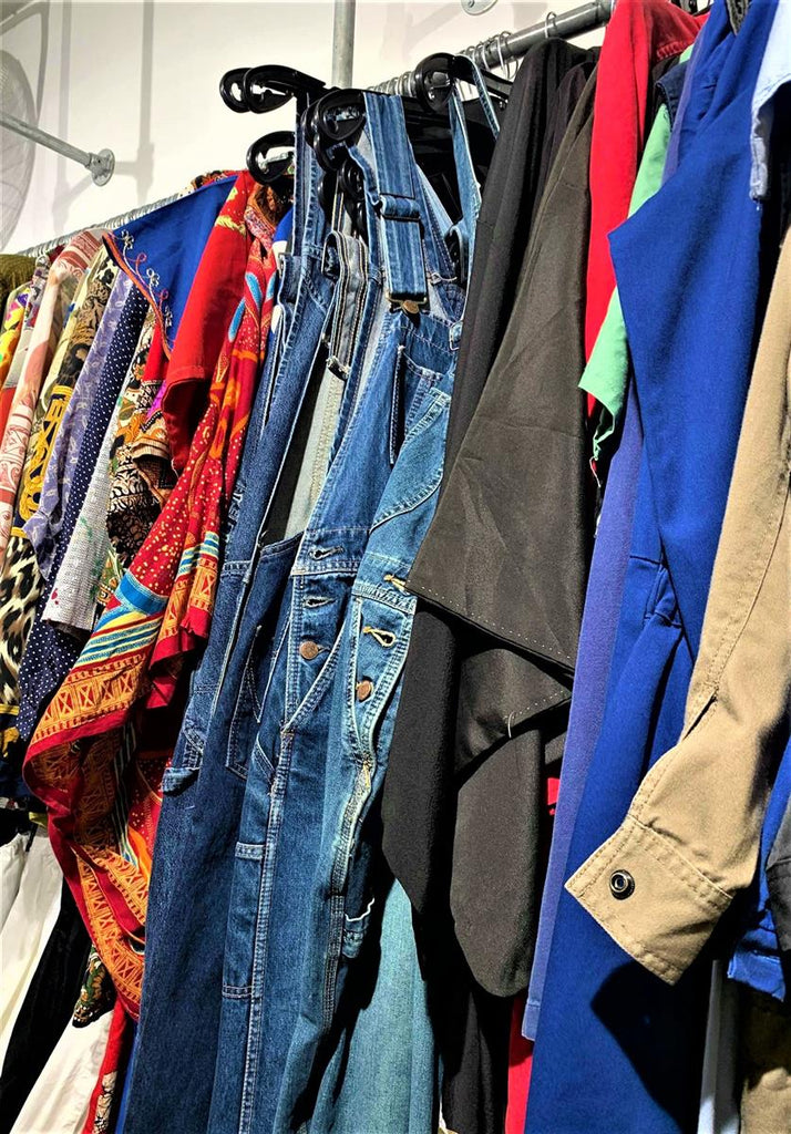 episode vintage stores denim overall in brussels